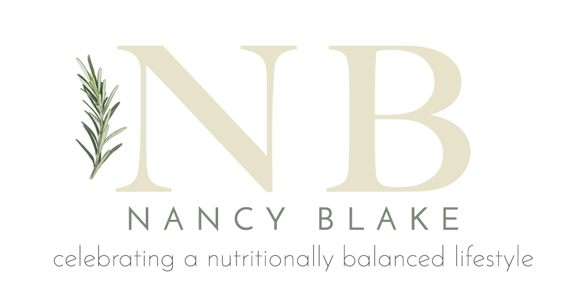 Nancy Blake - celebrating a nutritionally balanced lifestyle